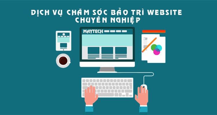 dịch vụ bảo trì chăm sóc website