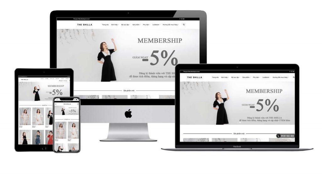 Maytech thiết kế website bán hàng