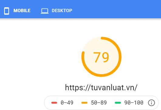 Tốc độ tải trang của web tin tức